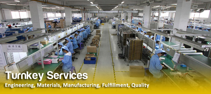 Manufacturing, Engineering, Logistics Services