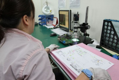 Bare board inspection and Solder Paste inspection (SPI)